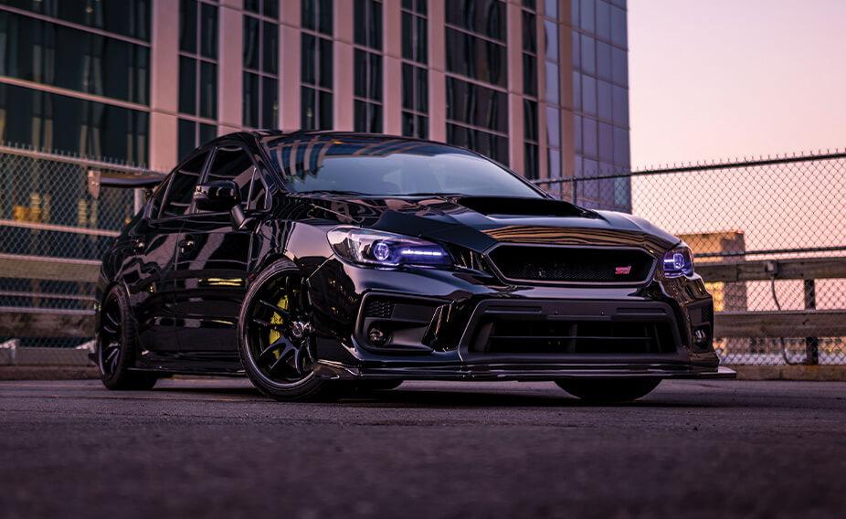 Cynthia's Subaru STi
